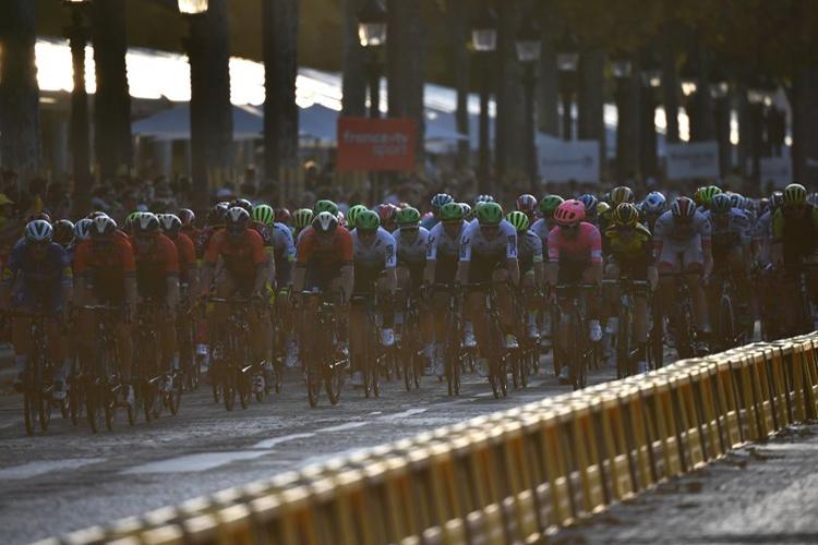 世界最大の自転車ロードレース「ツール・ド・フランス」(Getty Images)