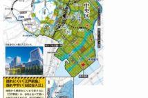 首都地震危険マップ【千代田区・中央区】皇居より東はほぼ埋立地