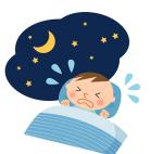 夜泣きとは違う!?赤ちゃんの「寝言泣き」とは