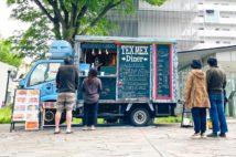 オフィス街では弁当が売れたが、マンションや団地周辺ではクレープや総菜なども人気。場所に合わせて商品も変えた