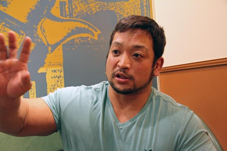 名門、明徳義塾出身で現在はプロレスラーの関本大介氏