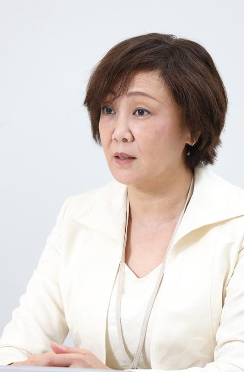 出前館会長の中村利江氏