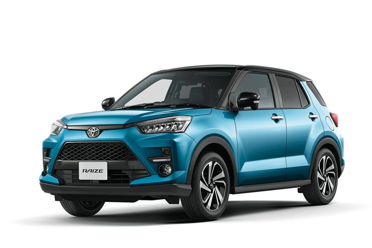 発売1か月で約3万2000台の受注を獲得したトヨタ「ライズ」