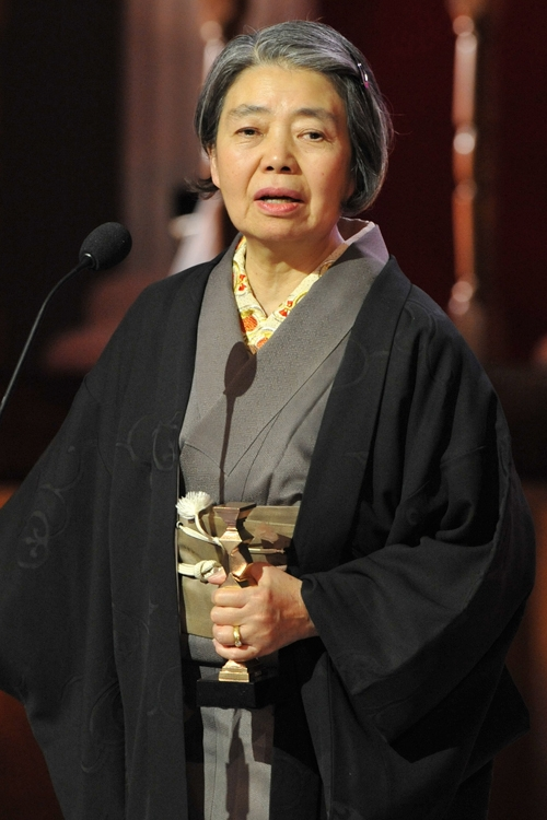 2013年3月の「日本アカデミー賞」授賞式で全身がんを告白した樹木さん