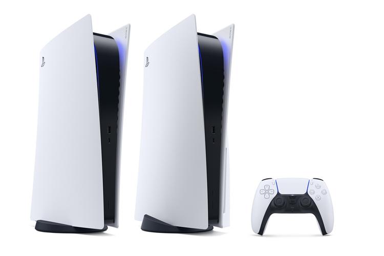 11月12日に発売されるソニー「PlayStation5」(AFP PHOTO/SONY INTERACTIVE  ENTERTAINMENT INC)