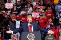トランプは大統領選をどう戦うのか(写真/AFP=時事)