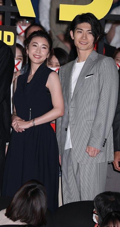 『コンフィデンスマンJP』では三浦春馬さんと共演(2019年5月)