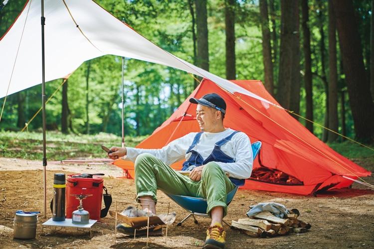 キャンプ参加人口は年々増加しているという