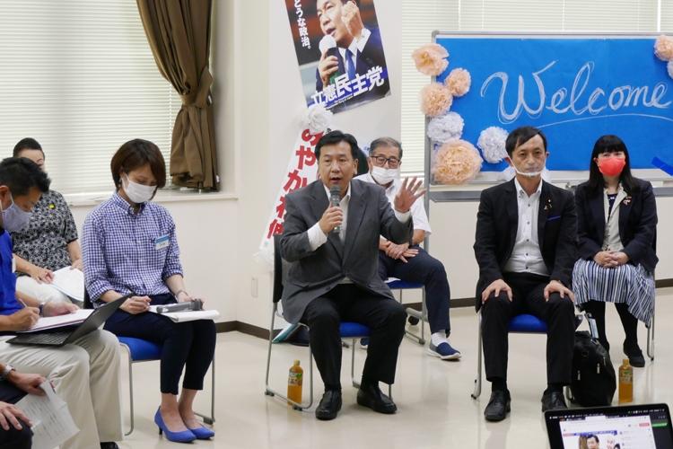 中村喜四郎氏の教えが野党をどう強くするか(時事通信フォト)