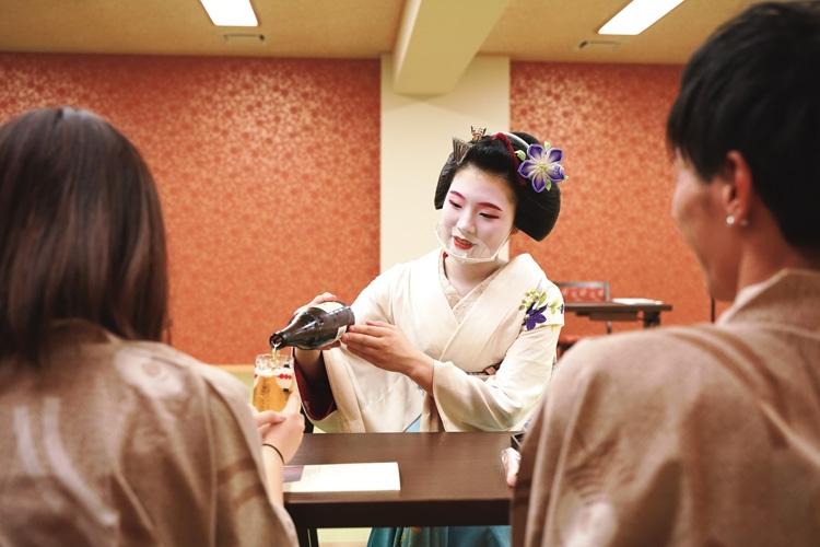 京都では観光を楽しめるよう様々な工夫を凝らしている