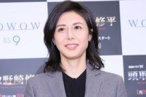 長女が英留学の松嶋菜々子 仕事を調整し「日英往復生活」へ