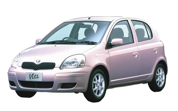 99年発売のトヨタのヴィッツ