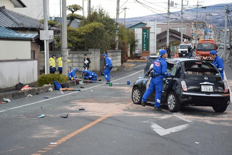 群馬県前橋市で起きた事故の被告が驚きの発言(時事通信フォト)