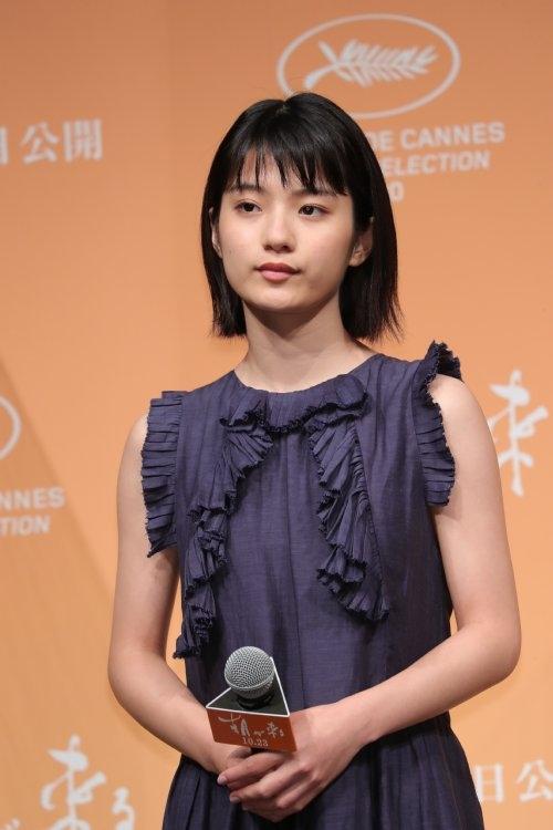 『朝が来る』で、実の子供を育てられなかった女性を演じた蒔田彩珠