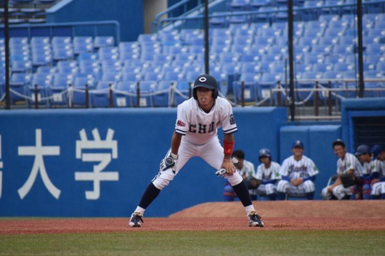 スピードスターの中央大学・五十幡亮汰外野手(写真提供/中大硬式野球部)