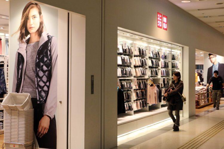 国内店舗数は減らしつつあるユニクロ(AFP=時事通信フォト)