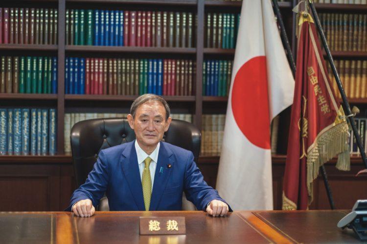 菅義偉首相(Reuters/AFLO)