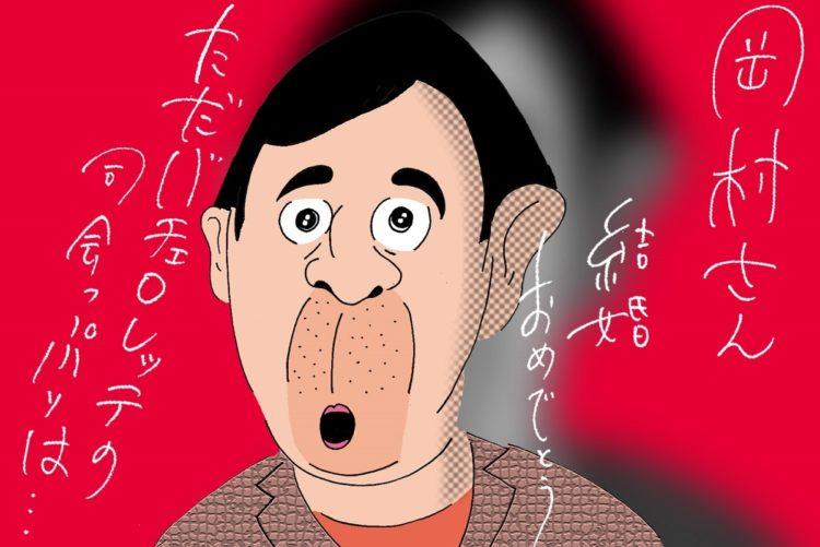 『バチェロレッテ・ジャパン』司会に加わった新婚の岡村隆史(イラスト/ヨシムラヒロム)