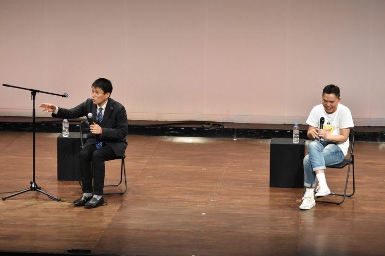 太田の真横で太田について語る山田雅人