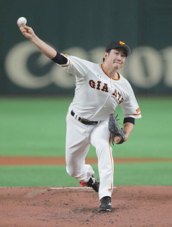 菅野智之投手のメジャー移籍が早まる可能性も(時事通信フォト)