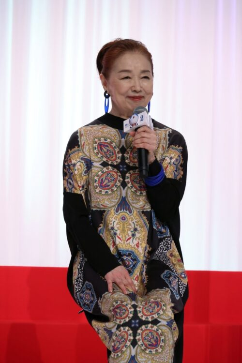 宮本信子はのび太のおばあちゃんの声を担当した