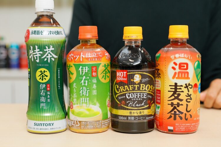 麦茶が冬のホット飲料の定番になるか(サントリー食品インターナショナル)