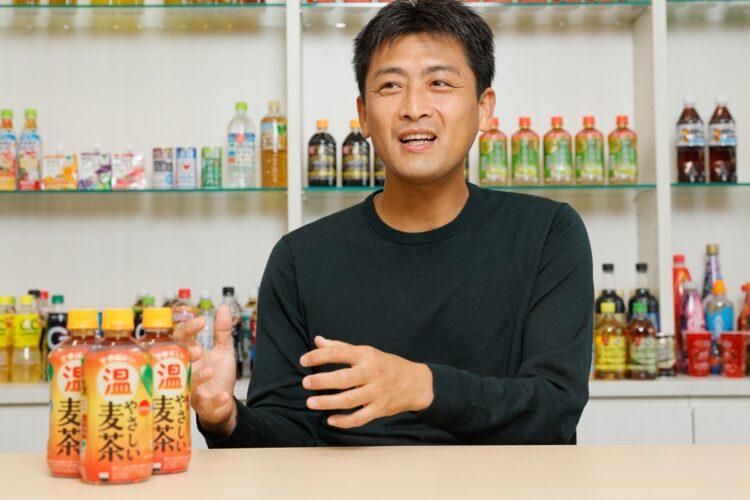 サントリー食品インターナショナル ブランド開発事業部の三星晴信氏
