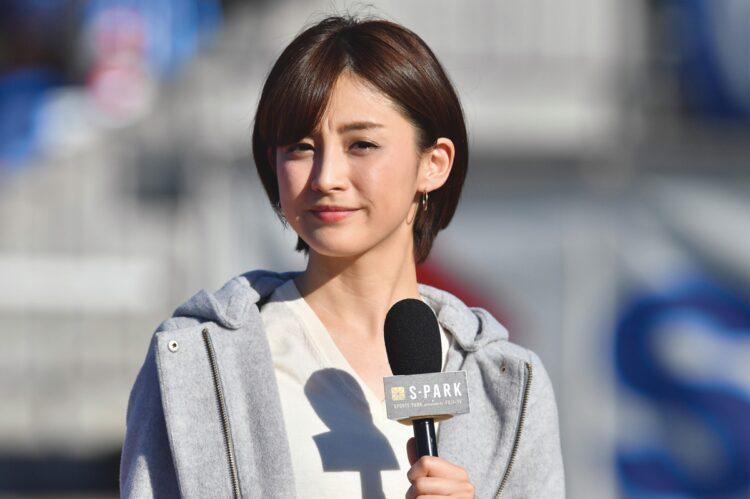早稲田大学出身のフジテレビアナ・宮司愛海(写真/AFLO)
