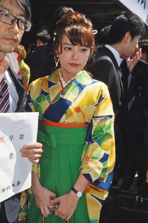テレビ朝日アナ・三谷紬(写真/ロケットパンチ)