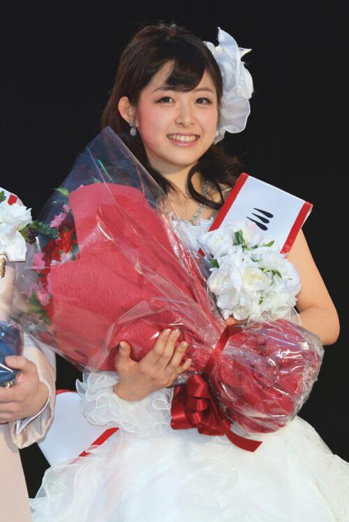 ミス東大2011グランプリを受賞した諸國アナ(写真/ロケットパンチ)