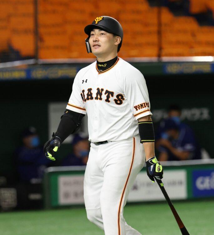 丸佳浩選手はまだ日本一の経験がない(時事通信フォト)