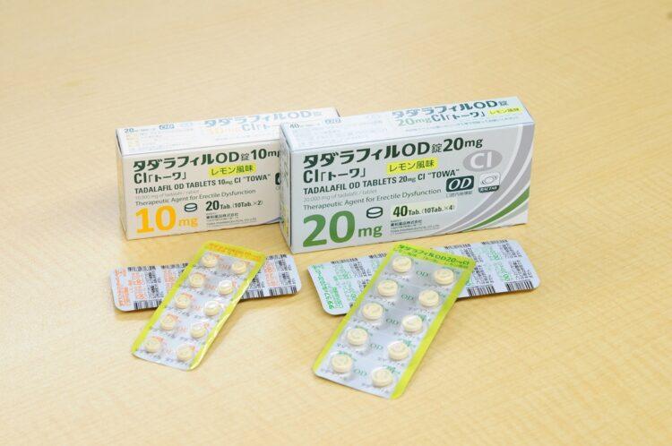 口内でサッと溶けるタイプの薬も登場