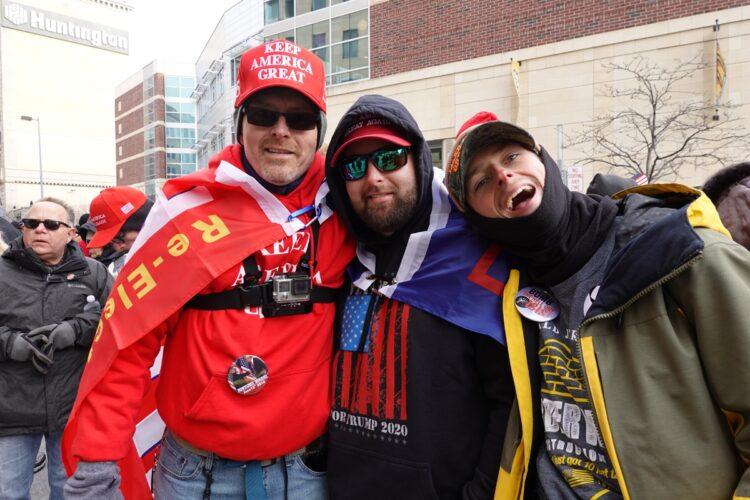 1月10日オハイオ州リードの集会に集まった人たち
