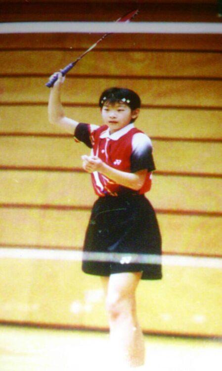 小学生の頃から頭角を現し、全国小学生ABCバドミントン大会で優勝を果たす(写真提供/高橋礼華)