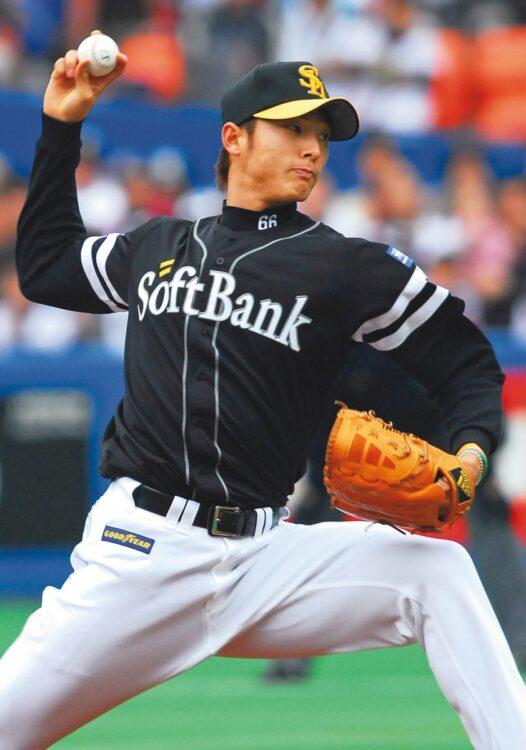 斉藤和巳が幾多の手術をしながら野球と向き合った日々について振り返る(時事通信フォト)
