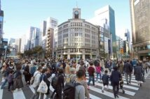 東京の感染者3日連続300人超えもにぎわう銀座 第3波に不安の声も