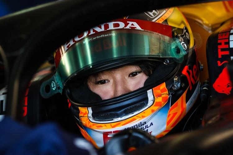 F1への期待がかかる角田裕毅、20歳。海外からの注目度も高いドライバーだ