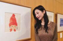 1972年『赤い毛糸帽の女の子』(絵本『ゆきのひのたんじょうび』(至光社)より)
