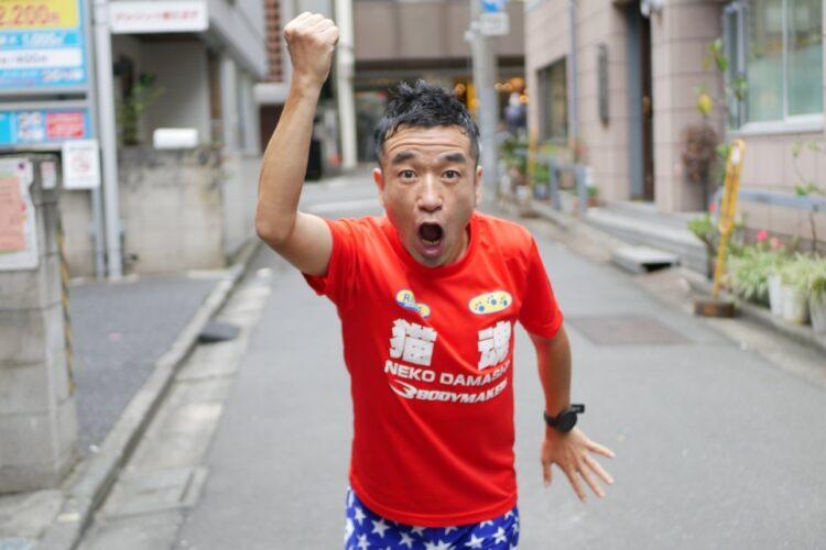 東京五輪を目指してトレーニングも続けている