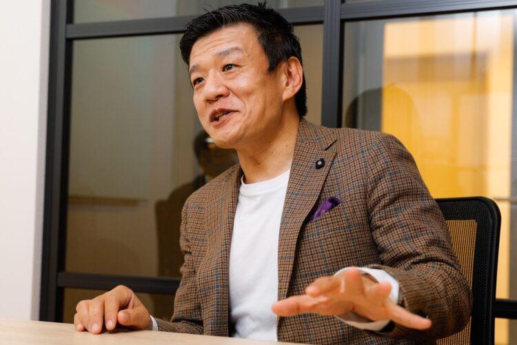 「株式会社 刀」代表取締役CEOの森岡毅氏