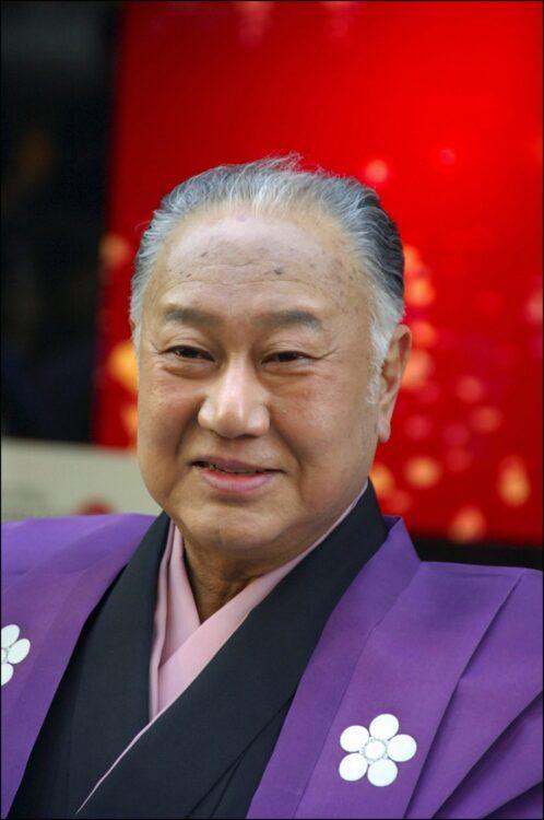 歌舞伎俳優の坂田藤十郎さん(享年88、Getty Images)