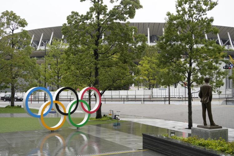 新国立競技場(東京都新宿区)の地盤の強さは45点、他の地域は?(時事通信フォト)