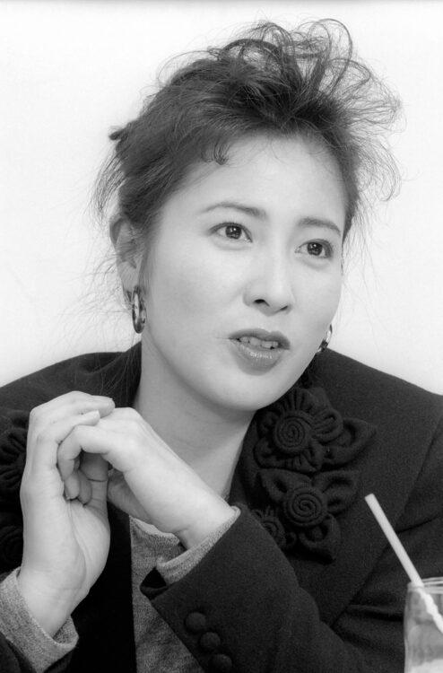 女優の岡江久美子さん(享年63、写真/共同通信社)