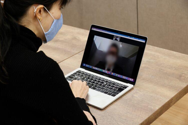 オンライン婚活に記者が挑戦(イメージ)