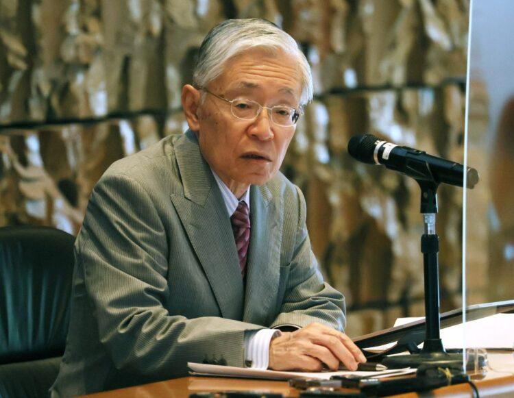 週刊ポスト報道に前田会長も敏感に反応した(時事通信フォト)