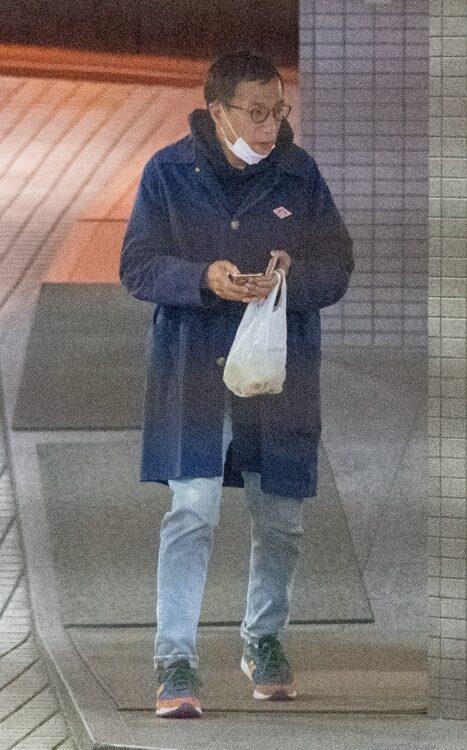 ナイツ・塙の姿をキャッチ