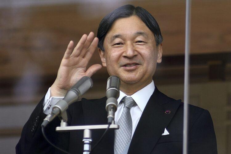 2020年の一般参賀での天皇陛下(写真/時事通信社)