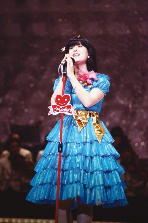 河合奈保子の笑顔と美声をもう一度(TBS DVD『河合奈保子 NAOKO ETERNAL SONGS』より)