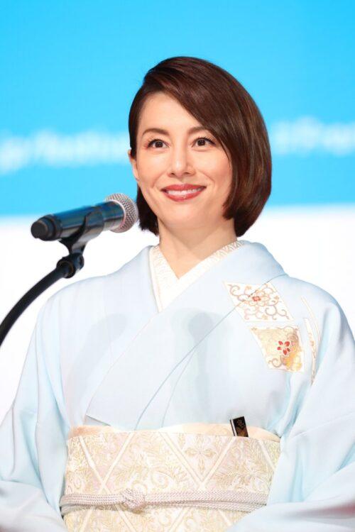 『フランス映画祭2020 横浜』フェスティバル・ミューズの米倉涼子