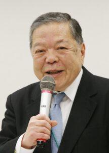 外交評論家の加瀬英明氏(時事通信フォト)